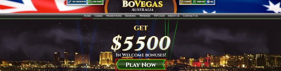 bovegas casino Australia