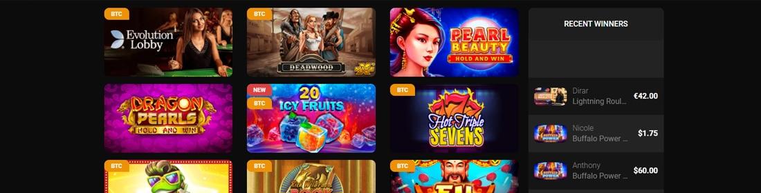 Casinochan games
