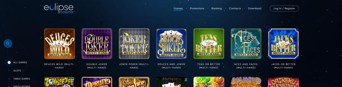 Eclipse Casino Online