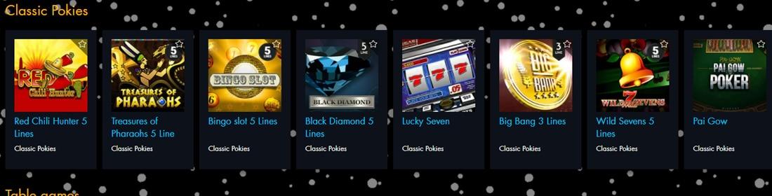 Winward Casino Games